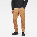 G-Star RAW® Motac-X Deconstructed 3D Slim Pants Brown front flat
