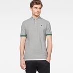 G-Star RAW® Raw Correct Core Polo Grey model front