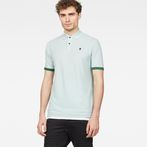 G-Star RAW® Raw Correct Core Polo Light blue model front