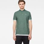 G-Star RAW® Raw Correct Core Polo Green model front