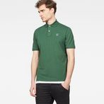 G-Star RAW® Dunda Polo Green model front