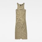 G-Star RAW® Tairi Tank Dress Green model front