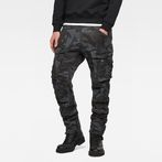 G-Star RAW® Rovic 3D Straight Tapered Pants Grey model front