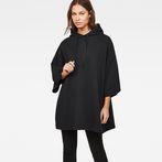 G-Star RAW® XXL Hooded Sweater Black model front