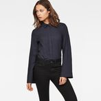 G-Star RAW® Spiraq Straight Shirt Dark blue