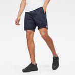 G-Star RAW® Bronson Straight 1/2-Length Shorts Dark blue model front