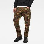 G-Star RAW® Rovic 3D Tapered Jeans Green model front