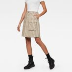 G-Star RAW® Tendric High Waist waist Skirt Grey