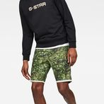 G-Star RAW® G-Star Elwood X25 3D Tapered Men's Shorts Green front flat