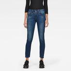 G-Star RAW® Lynn Mid Skinny Ripped Ankle Jeans Medium blue