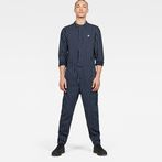 G-Star RAW® Avernus Racer Jumpsuit Dark blue model front