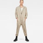 G-Star RAW® Avernus Racer Jumpsuit Grey model front