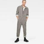 G-Star RAW® Avernus Racer Jumpsuit Black model front