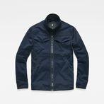 G-Star RAW® Deline Overshirt Dark blue model front