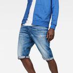 G-Star RAW® Arc 3D 1/2-Length Shorts Medium blue front flat