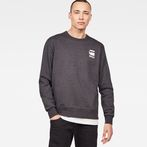 G-Star RAW® Doax Sweater Grey model front