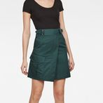 G-Star RAW® Bristum Army Wrap Skirt Green