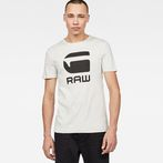 G-Star RAW® Drillon T-Shirt White model front
