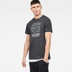 G-Star RAW® Cadulor T-Shirt Black model front