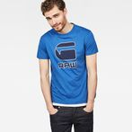 G-Star RAW® Cadulor T-Shirt Medium blue model front