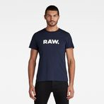 G-Star RAW® Holorn T-Shirt Dark blue model front