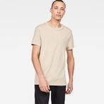 G-Star RAW® Zaddle T-Shirt Beige model front