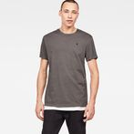G-Star RAW® Zaddle T-Shirt Black model front