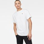 G-Star RAW® Dommic Loose T-Shirt White model front