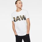 G-Star RAW® Tahire T-Shirt White model front