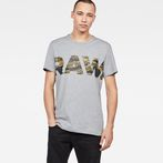 G-Star RAW® Tahire T-Shirt Grey model front