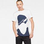 G-Star RAW® 11 T-Shirt White model front