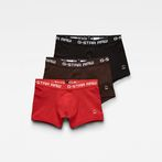 G-Star RAW® Classic Trunk Color 3-Pack Red front bust
