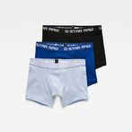 G-Star RAW® Classic Trunk Color 3-Pack Medium blue front bust