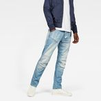 G-Star RAW® 5620 G-Star Elwood 3D Sport Tapered Jeans Light blue model front