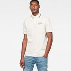 G-Star RAW® 28 Art Polo White model front