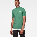 G-Star RAW® 29 Art Polo Green model front