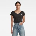 G-Star RAW® Eyben Slim T-Shirt Black model front
