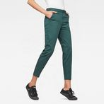G-Star RAW® Bronson Mid waist Skinny Chino Green model front