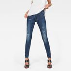 G-Star RAW® Lynn D-Mid-Waist Super Skinny Jeans Dark blue
