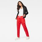 G-Star RAW® Lanc Skinny Trackpants Red model front