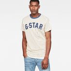 G-Star RAW® 05 Wabash T-Shirt White model front