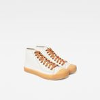 G-Star RAW® Rovulc Mid Sneaker White side view