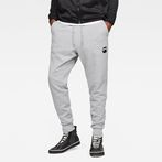 G-Star RAW® Doax 3D Tapered Sweatpants Grey model front