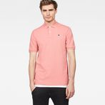 G-Star RAW® Dunda Polo Pink model front