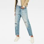 G-Star RAW® Midge Saddle High Waist Boyfriend Jeans Light blue