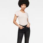 G-Star RAW® Eyben Slim T-Shirt Pink model front