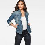G-Star RAW® 3301 Jacket Medium blue model front