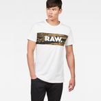 G-Star RAW® Tairi T-Shirt White model front