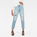 G-Star RAW® 3301 High waist Straight 90s Ankle-Cut Jeans Light blue