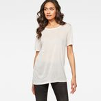 G-Star RAW® Kade Straight T-Shirt White model front